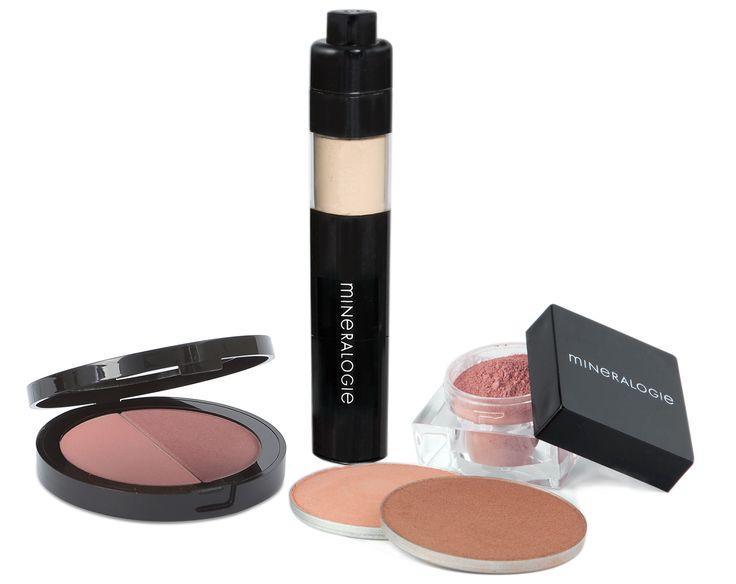 Blush, bronzers and radiance