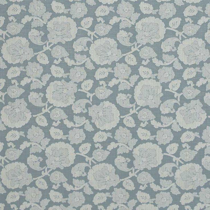 Warwick Fabrics : HARROGATE, Colour DUCK EGG