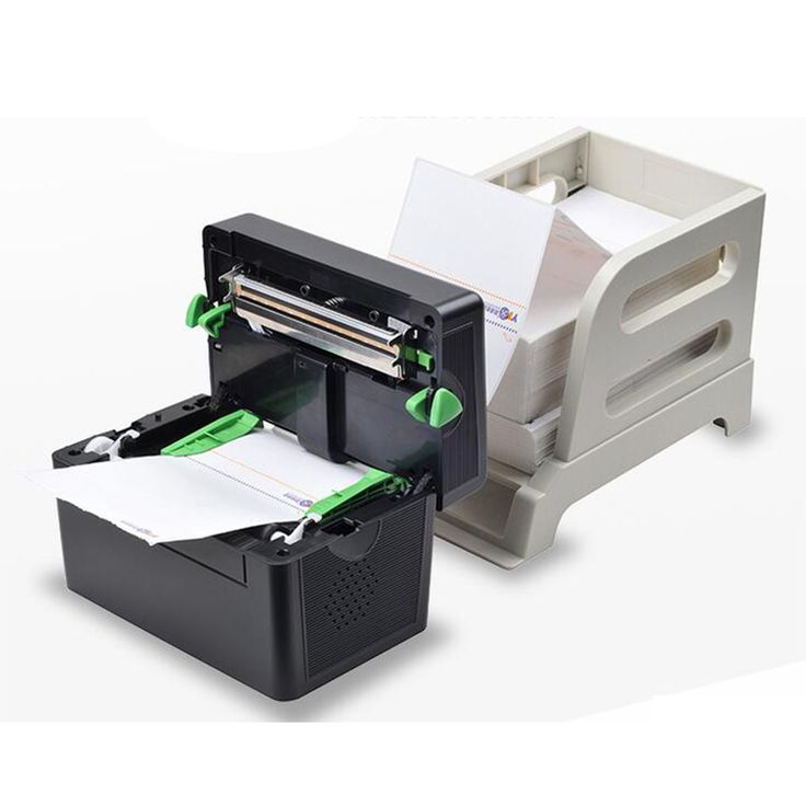 Xprinter 108mm thermal mini label printer usb port use fold paper qr code sticker machine printing shipping label new arrival #Affiliate