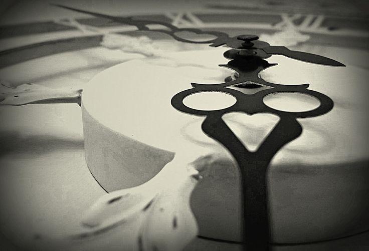Roman Numerals Clock. By Christy-Lynn Breetvelt