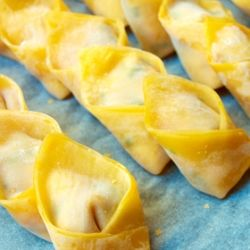 Wontons (or wantans, whichever way you prefer to say it) are great for deep frying, pan fry (like gyozas) or cooked in chicken broth and served with noodles.