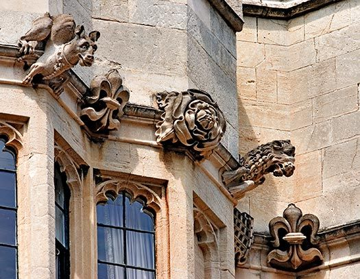 Windsor Castle Gargoyles  http://www.inetours.com/England/Windsor/photos/Gargoyles_Windsor_8863.html