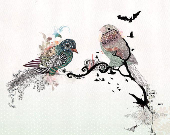 Die besten 25+ Feder und Tintenillustrationen Ideen auf Pinterest - kunst fürs wohnzimmer