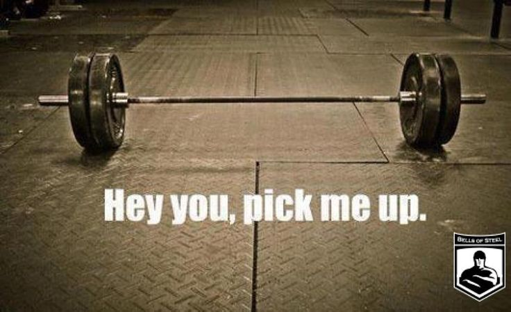 Who is excited about touching a #barbell today?