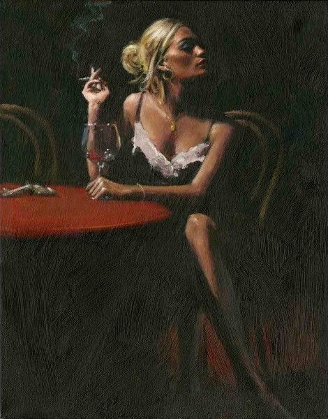 Fabian Perez - English Rose