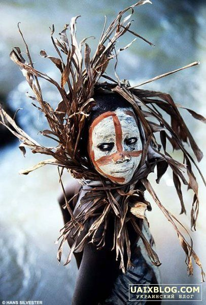 Африканский макияж