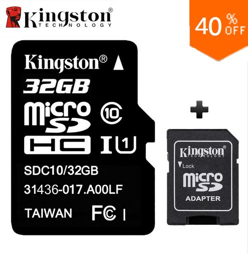 Original Kingston Memory Card Micro SD Card 32GB Class 10 Cartao de Memoria 32 GB Tarjeta Micro SD TF Card with Microsd Adapter http://s.click.aliexpress.com/e/fiI6AAa