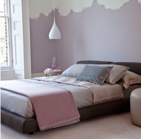 Combinez les couleurs dans votre intérieur. Peindre un demi mur crée un espace différent. Inspiration...     Du gris soutenu pour une a...