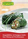Bio-Rezept: Mangoldblätter mit Boulgour-Schafskäse-Füllung und Frischkäsesauce - RAPUNZEL NATURKOST