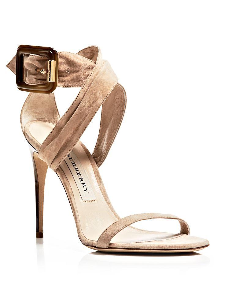 burberry sandals marham buckle high heel bloomingdale