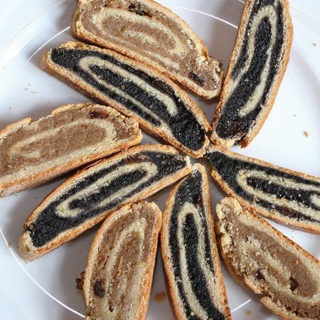 Hungarian Beigli - Poppyseed & Nut Roll