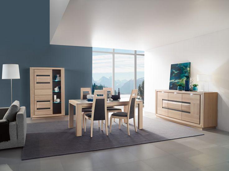 MARELLA - Stijlvolle, hedendaagse slaapkamer die een energieke sfeer in uw interieur brengt ! Massief eikenhout en fineer, mogelijk in drie kleuren (grijs, gerookt grijs of naturel). Keramisch inlegwerk, mogelijk in drie verschillende kleuren |Meubelen Crack