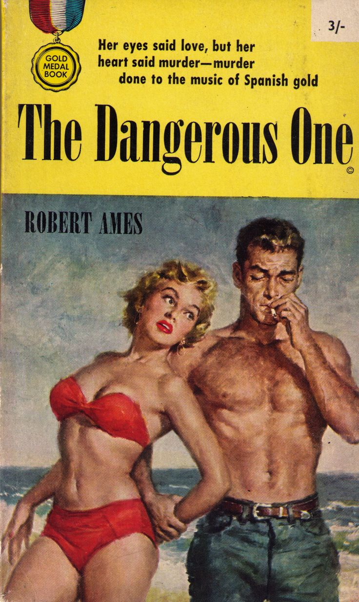 The Dangerous One, Fawcett Gold Medal, 1961