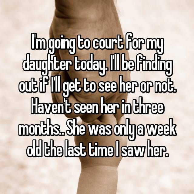 Whisper App.  Confessions from single dads fighting for custody.