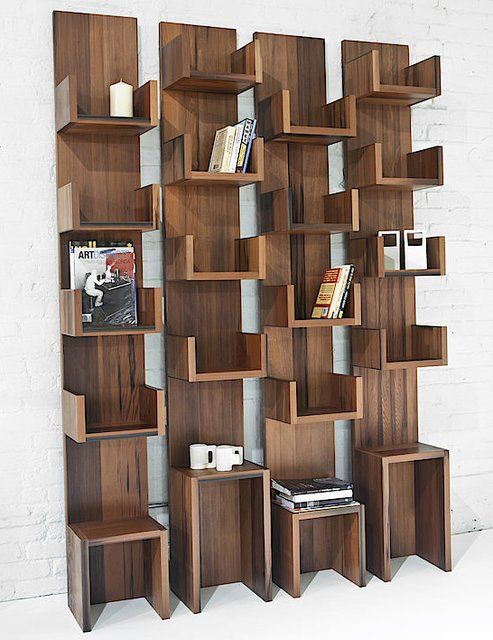 Fancy - Leaning Shelves by Deger Cengiz
