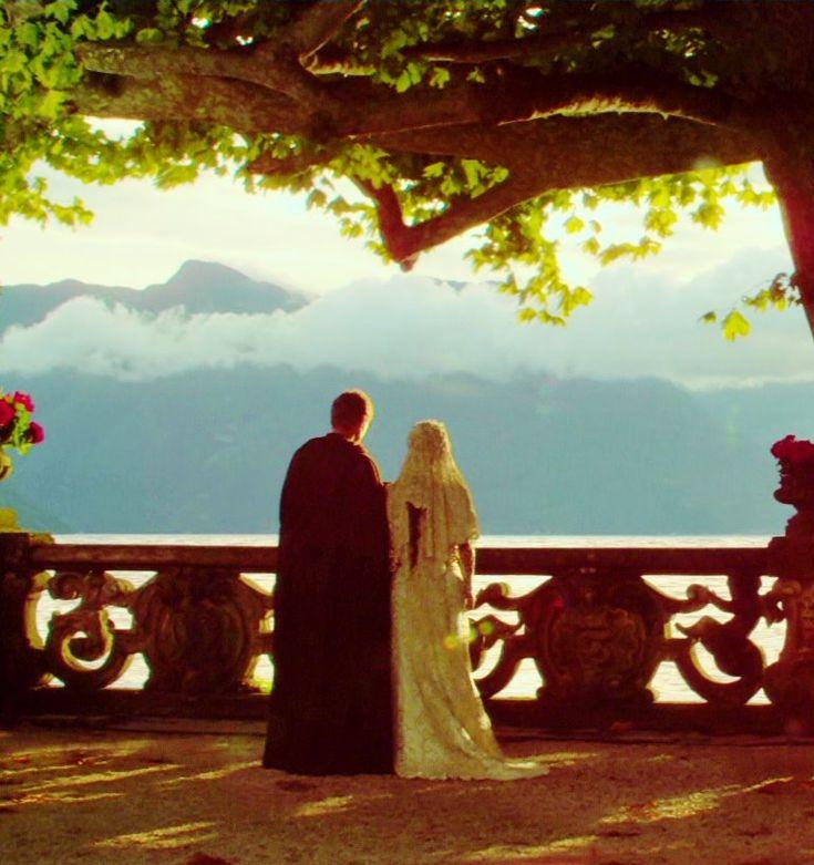 Star Wars Episode II wedding scene...Villa del Balbianello, Lago Di Como, Italia
