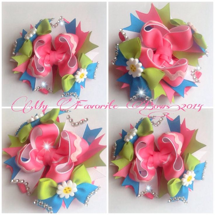 """THIS ONE! Part 1  is a 5"""" boutique style hair bow step by step with measurements and easy instructions"""