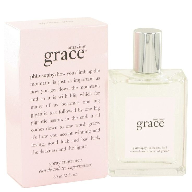 New #Fragrance #Perfume #Scent on #Sale Amazing Grace by Philosophy 2 oz / 60 ml EDT Spray - Amazing Grace, the 2003 white floral fragrance from Philosophy, hits all the right notes. The scent opens with a bright pop of bergamot and grapefruit that revitalizes your spirit before blossoming into a jasmine and freesia heart that's as fresh and welcoming as a warm, breezy day. A base note of musk adds depth without weighing it down.. Buy now at…