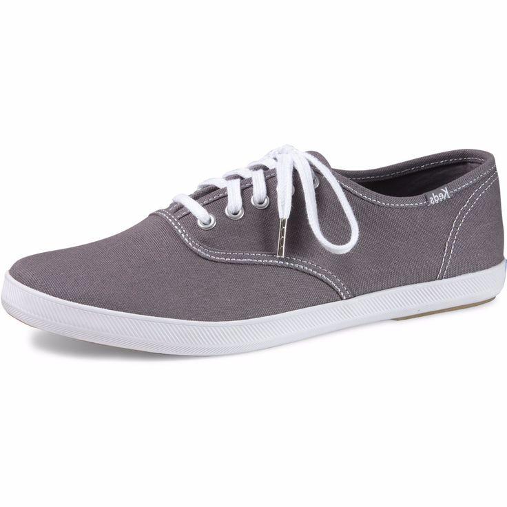 Keds - Men's Champion Originals Low Canvas Sneaker - Steel Grey