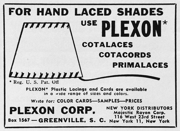 Plexon plastis Lacings and Cords