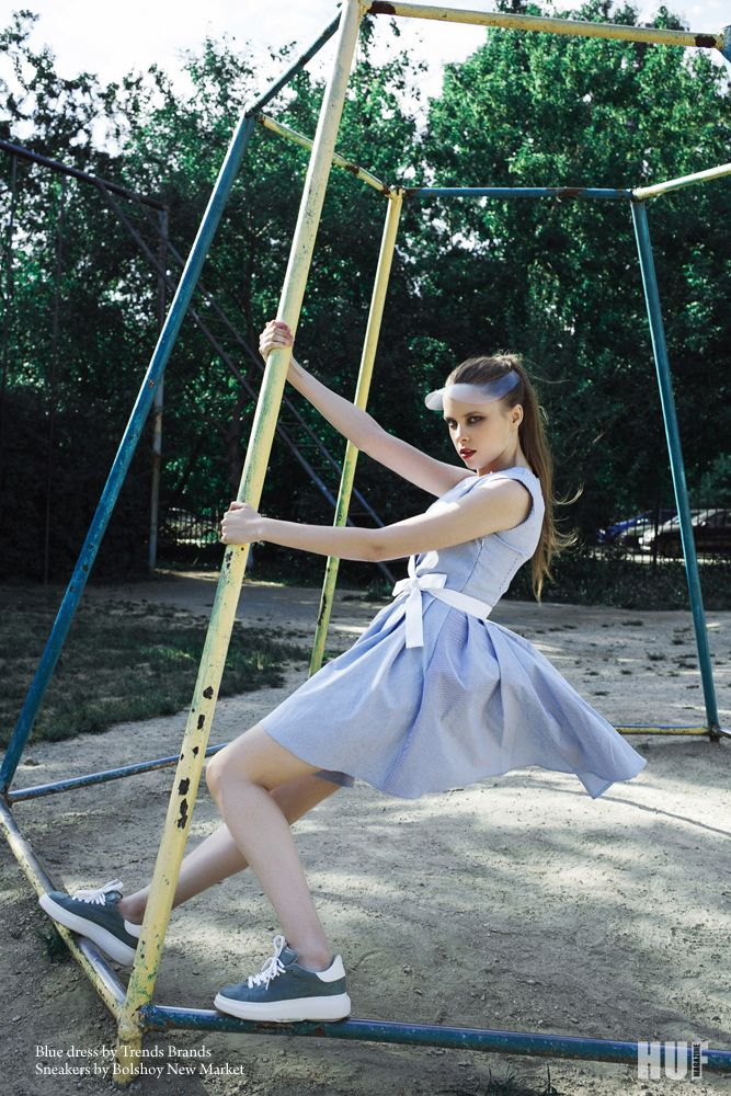 Photographer: Maria Rul. Stylist: Irina Kamelianova. Makeup: Ksenia Naimushina. Models: Kate Zavarnitsyna and Nastia Zavarnitsyna @ Fashion One...