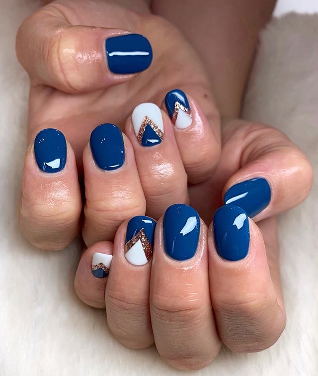 30 Amazing Gel Nails Designs For Winter To Copy In 2020 With