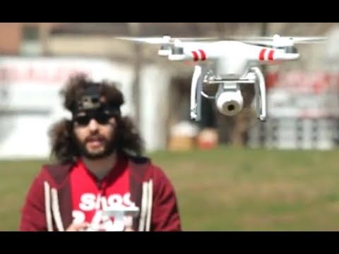 WARNING This Is NOT A Toy: DJI Phantom 2 Vision | Fro Knows Photo