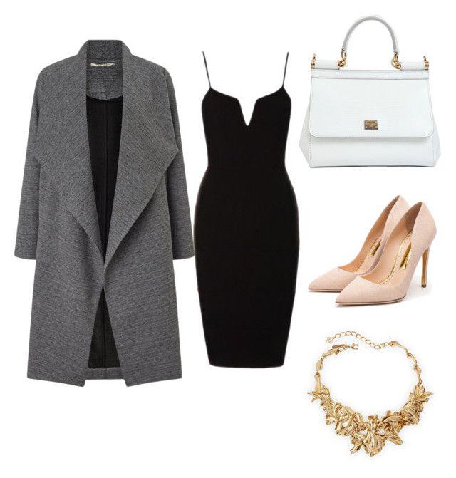 class by megan-osh on Polyvore featuring polyvore moda style Miss Selfridge Rupert Sanderson Dolce&Gabbana Oscar de la Renta fashion clothing