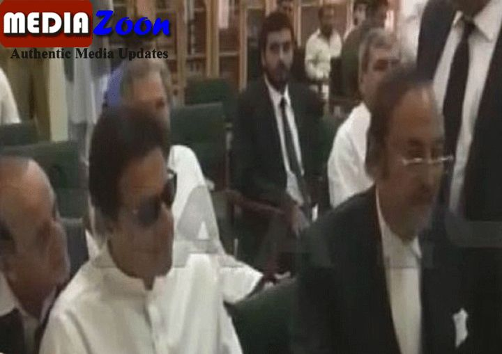 Mediazoon:In the contempt court, Imran Khan apologized for the election commission, the EC ordered to submit a written apology with Imran Khan's signature.