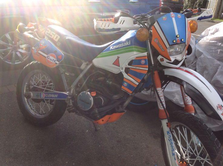 The Dutch Rudder KLR 250