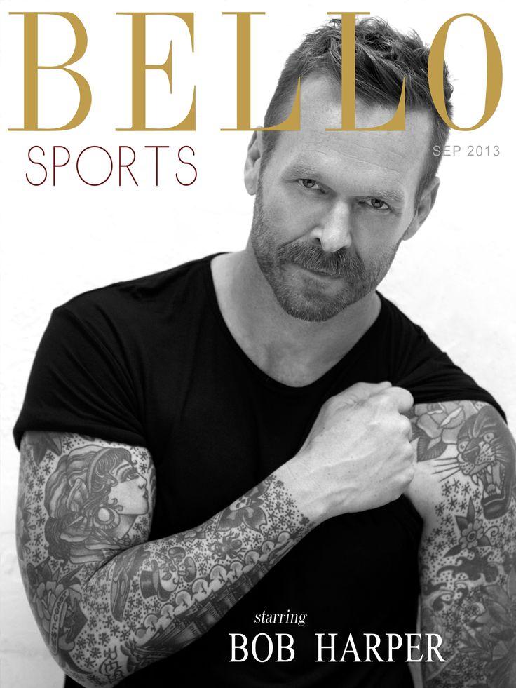 Bob Harper Motivational Bello Mag Interview