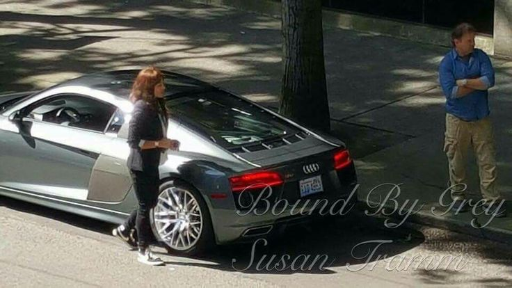 Best Behind The Scenes Of The Filming Of Fifty Shades Darker - Audi car 50 shades freed