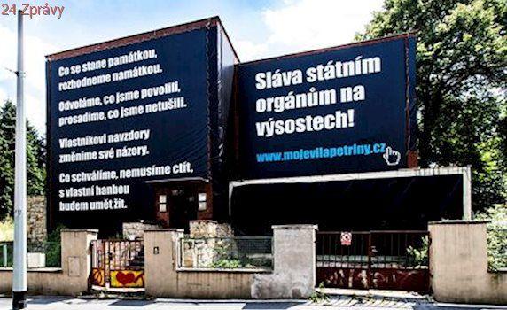 Poslední snaha o záchranu vily na Petřinách? Šikanují mě, říká majitel