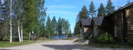 Saija Lodge and Huskyfarm is situated in the northeast of Finland in the area of Kuusamo Lapland and belongs to the municipality of Taivalkoski. The lodge is completely built out of wood and surrounded by beautiful and original Finnish nature.