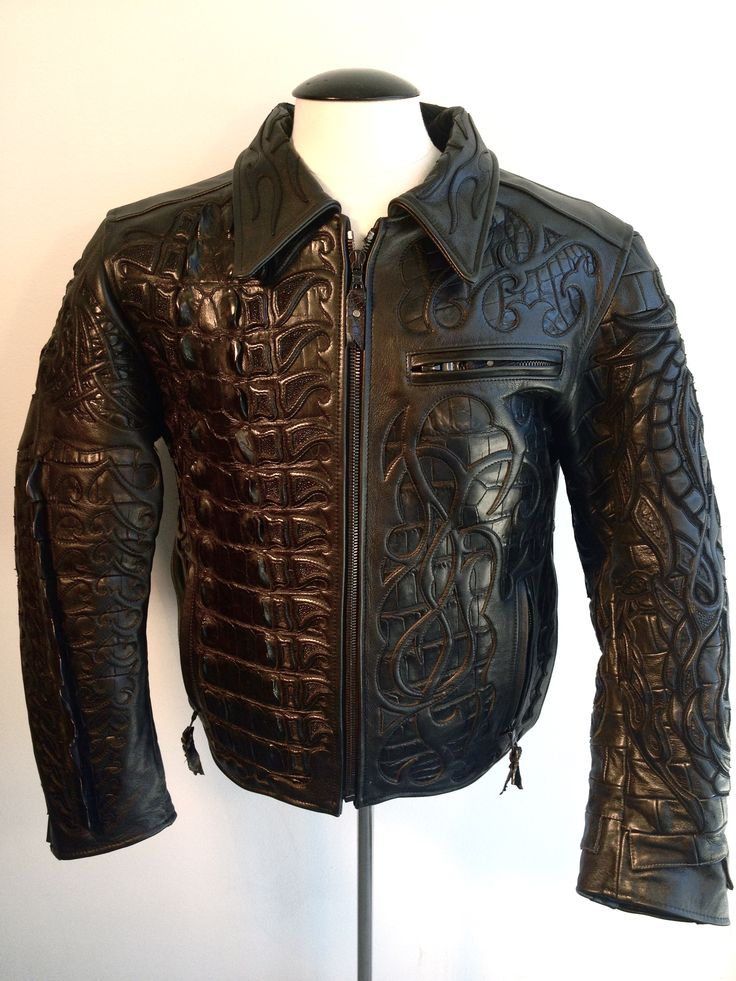 Motorcycle leather jackets custom made – Modern fashion jacket ...