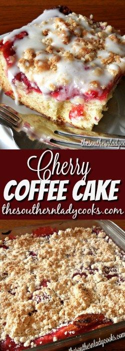 Cherry coffee cake is delicious! If you like something sweet with your morning coffee, try this cherry coffee cake for a real treat. This would be good as a dessert with ice cream, too. The …