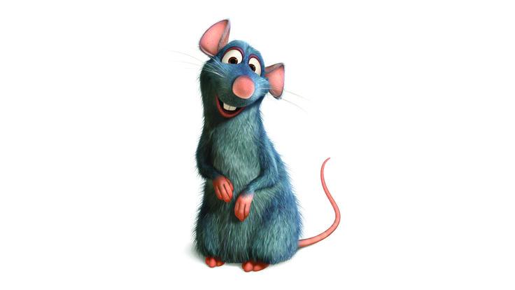 Rémy tiré de Ratatouille