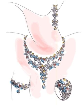 jewelry design drawing | mozafarian is pleased to work with an exceptional team of designers ...