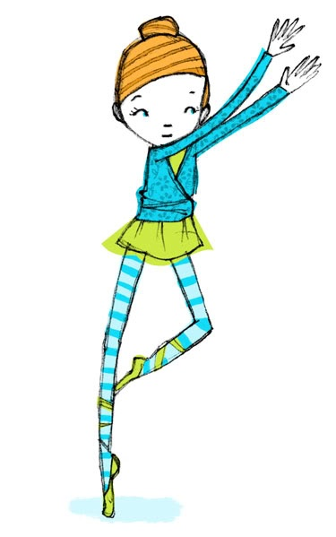 Illustration: Girl Dancing