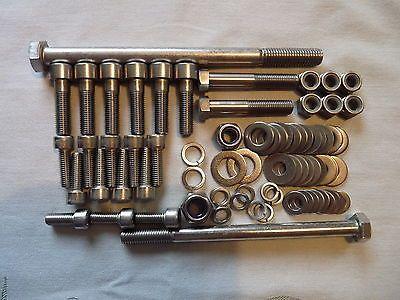 Suzuki GSXR1100L / GSXR 1100 L - Engine Mounting Bolt Set - Stainless Steel    eBay