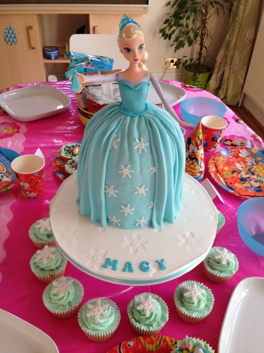 Disney Frozen Elsa Birthday Cake