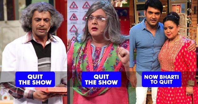 After Sunil Grover & Ali Asgar Bharti Singh To Quit The Kapil Sharma Show