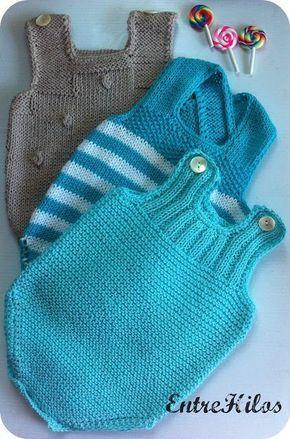 Ranitas o peleles de bebe con patron y tutorial