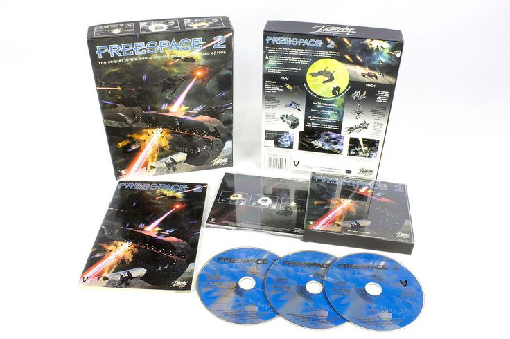Freespace 2 for PC by Interplay Entertainment, 1999, Simulation, Sci-Fi