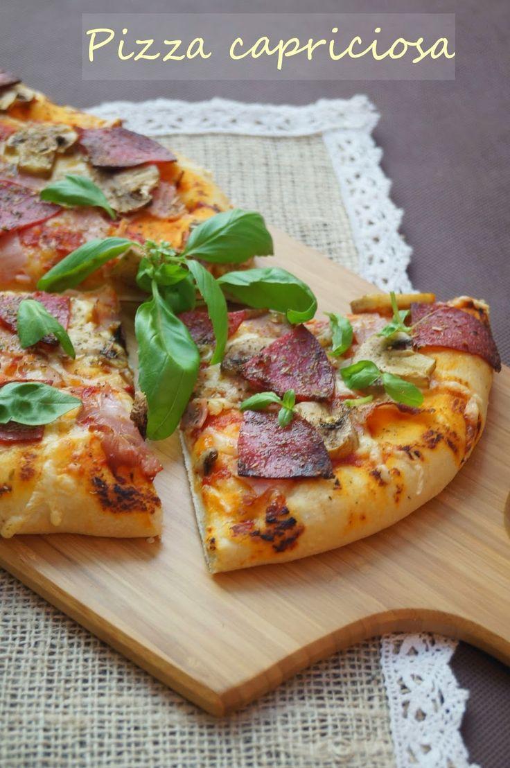 Kulinarne przygody Gatity: Pizza capriciosa