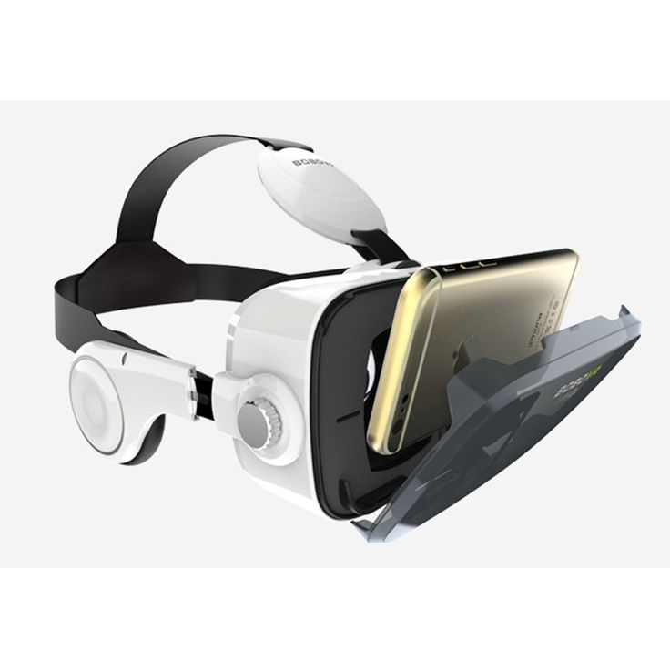 2016 Premium Virtual Reality VR Headset 3D Glasses With Headphones + Gamepad for Android IOS iPhone Samsung