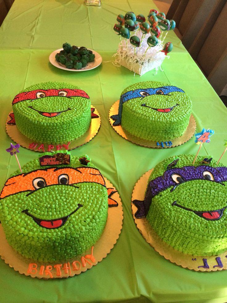 tortas tortugas ninjas