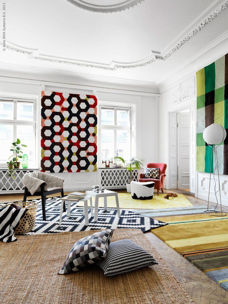 Mattor Karlstad : Mattor på väggar och golv hjälper till att stänga höstrusket ute