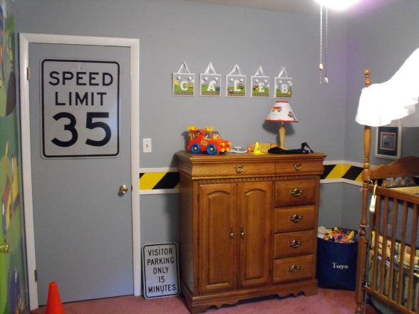boys construction room | ... thing constuction for a little boy to grow up