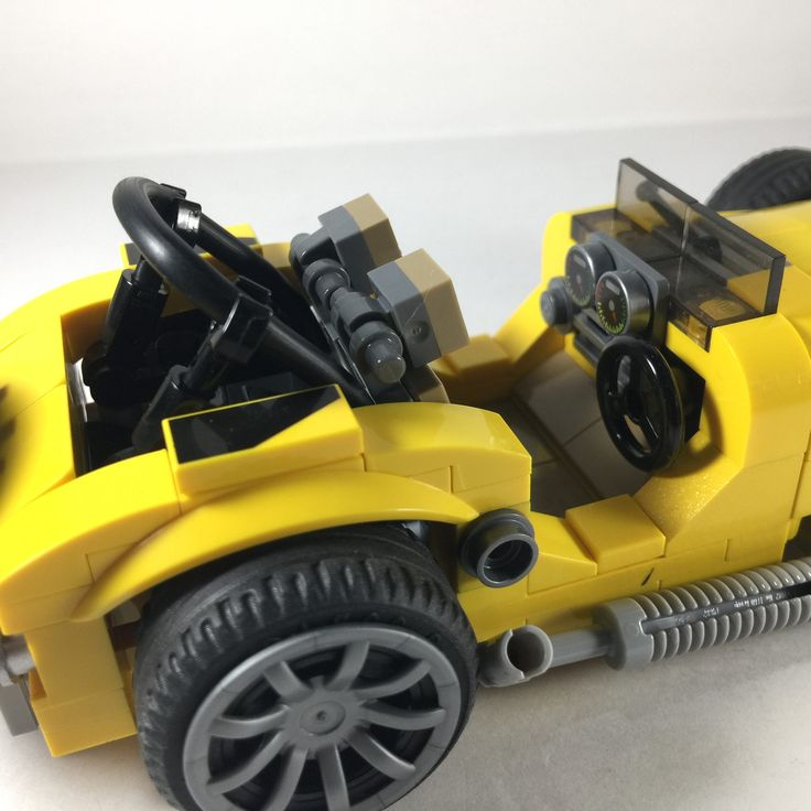 https://flic.kr/p/W3yZrF | Caterham - an approximation, the best that I can. #quickbuild #legomoc #caterham #lego